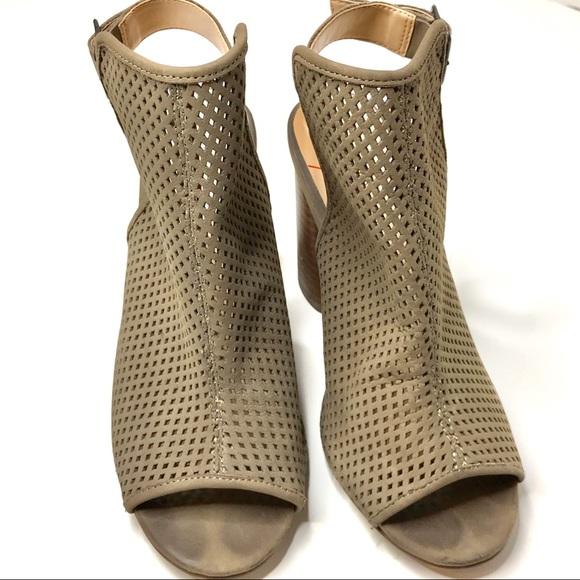2cf1cc7dc Sole Society Shoes | Slingback Peep Toe Bootiesize 65 | Poshmark